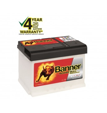 Banner 50Ah 420A 12V Power PRO akumuliatorius 210x175x190mm