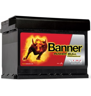 Akum. Banner 50 Ah Power PRO 12V 400A 210x175x175mm