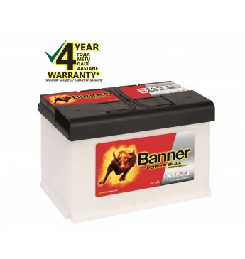 Banner 84Ah 760A 12V Power PRO akumuliatorius 315x175x190mm