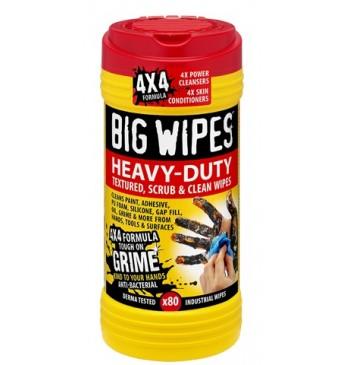 Valymo servetėlės Heavy Duty BIG WIPES 80 vnt 20x30 cm