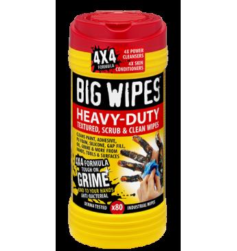 Valymo servetėles Heavy Duty BIG WIPES 80 vnt 20x30 cm
