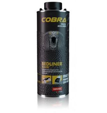 RINKINYS: Apsauginė danga COBRA juoda 4x600mlx200ml