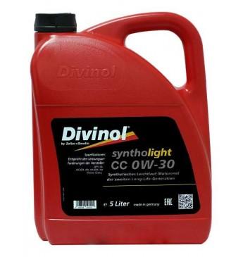 Syntholight CC 0W-30  5L API SL; ACEA A5-10/B5-10