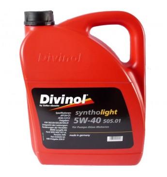 Syntholight 505.01  5w-40 5L API SN/CF; ACEA C3; VW505.01;