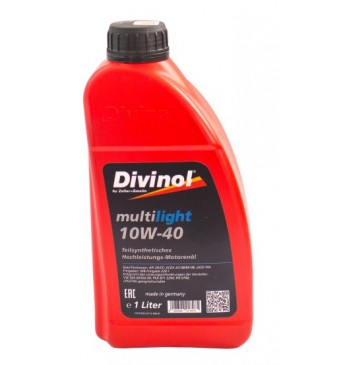 Multilight DIVINOL 10W40 1 l SN/CF, MB229.1, VW 505.00/502.00