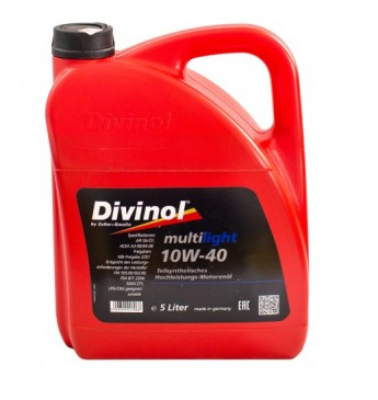 Multilight DIVINOL 10W40 5 l SN/CF, MB229.1, VW 505.00/502.00