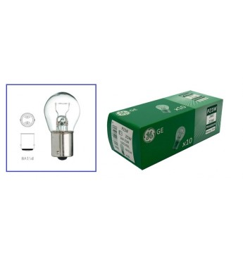 Lemputė HD 24V 21W BA15d  P21W GE HeavyDuty LL GE 1061HDL