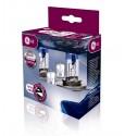 GE lempučių komplektas: 2xH4 12V 55W + 2x501NB W5W