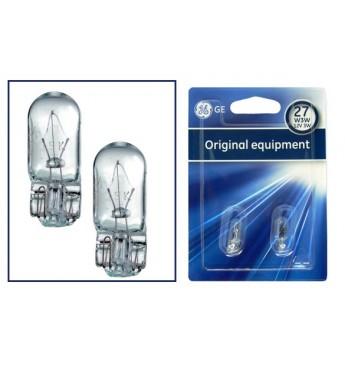 Lemputė 12V W3W W2.1x9.5d BL 2vnt. GE 504 35452