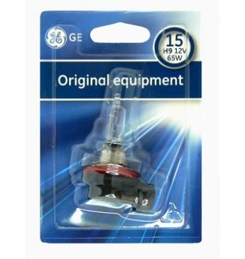 Lemputė H9 12V 65W PGJ-5 BL1vnt. GE 53100 18256