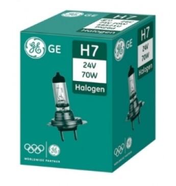 Lemputė H7 24V 70W GE 58521U