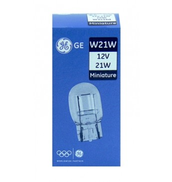 Lemputė 12V 21W W3x16d be cokolio didelė GE 7440 93458