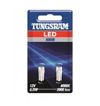 LED lemputė 12V W2.1x9.5d W5W