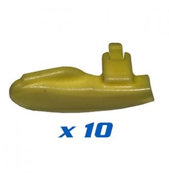 Galinės apsaugos QX 10vnt.