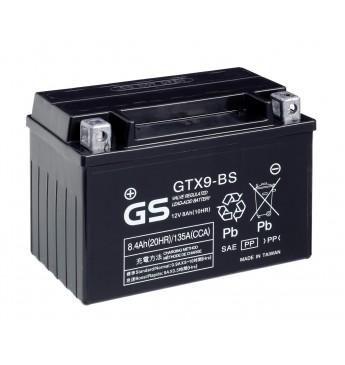 GS YUASA Moto 8.4Ah GTX9-BS12V 135A 151x88x106mm