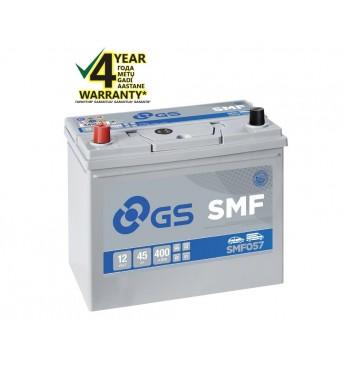 GS YUASA +- 45Ah SMF057 12V 400A 238x129x224mm
