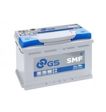 GS YUASA +- 75Ah SMF086 12V 650A 278x175x190mm
