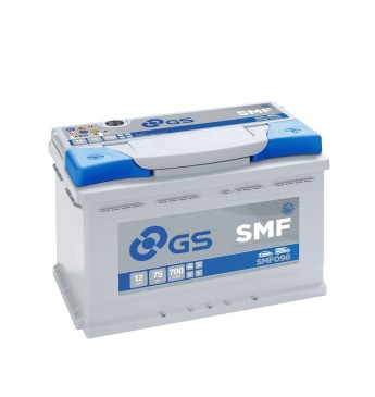 GS YUASA 75Ah SMF096 12V 700A 278x175x190mm