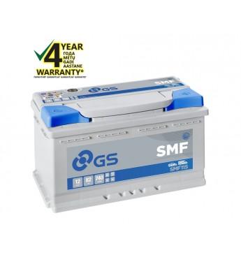 GS YUASA 80Ah SMF115 12V 740A 315x175x190mm