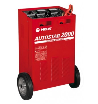 Akumuliatoriaus įkroviklis-paleidiklis Autostar 2000 Helvi 12-24V + Boost