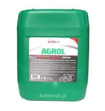AGROLIS Stou Plus 10W30 19.55L 17kg