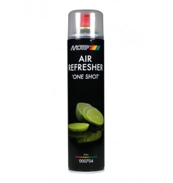 Kvapų neutralizatorius OneShot MOTIP citrinos kvapo 600ml aerozolis