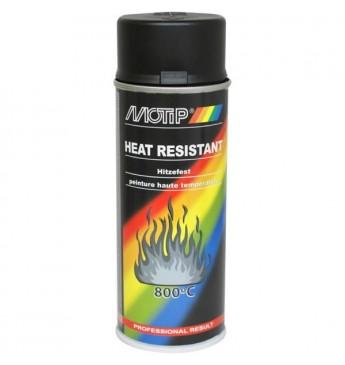 Karščiui atsparūs dažai juodi MOTIP® +800°C 400 ml
