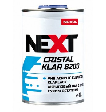 VHS lakas CristalKlar 8200 2+1  1L