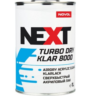 Lakas Turbo Dry Klar 8000 2+1  1L