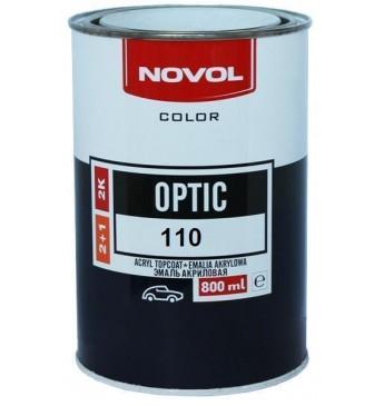 110 Akriliniai dažai tamsiai raudoni  0.8L