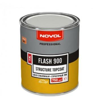 Struktūriniai 1K dažai FLASH900 juodi  0.75 l