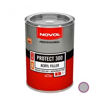 Akrilinis gruntas PROTECT 300 4+1 MS pilkas 1 l