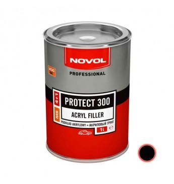 Akrilinis gruntas PROTECT 300 4+1 MS juodas 1 l