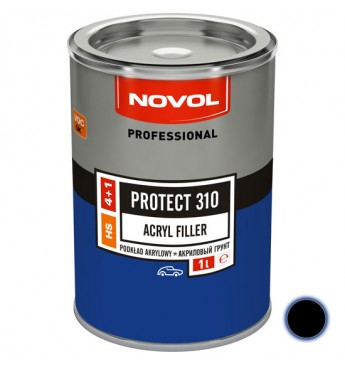 Akrilinis gruntas PROTECT 310 4+1 HS juodas 1 l