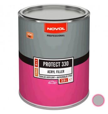 Akrilinis gruntas PROTECT 330 5+1 HS pilkas 3.5 l