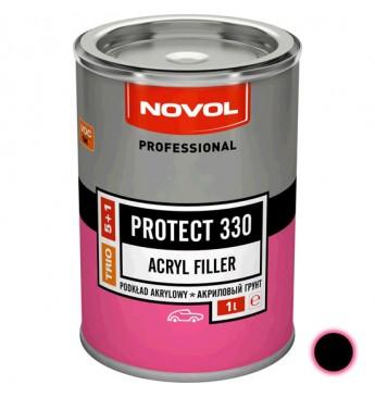 Akrilinis gruntas PROTECT 330 5+1 HS juodas 1 l