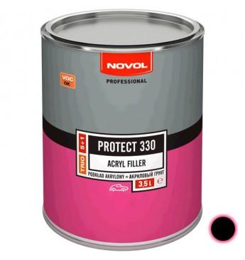 Akrilinis gruntas PROTECT 330 5+1 HS juodas 3.5 l