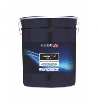 IND.PROTECT360 epoksidinis gruntas 4:1 pilkas 10 l