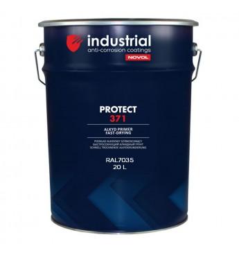IND.PROTECT371 alkidinis 1K gruntas 20 l, šv.pilkas RAL7035