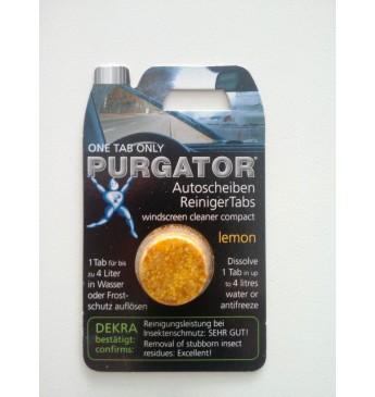 Citrinų kvapo langų plovimo tabletė Purgator 1 vnt.