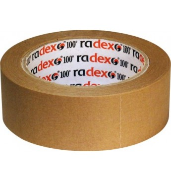 Maskavimo juosta ruda 25mm, 100°C  RADEX