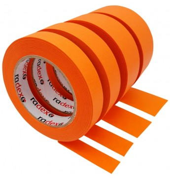 Maskavimo juosta ORANGE 19MM 80°C Radex