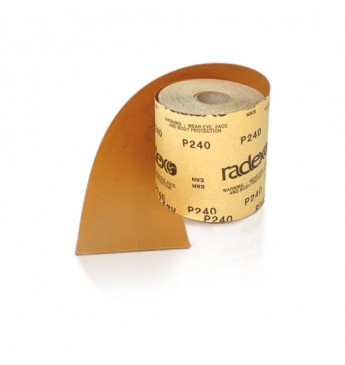 Šlifavimo popieriaus rulonas P150 115mmx50m RADEX