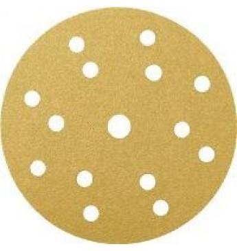 GOLD diskas P100 150mm RADEX (100 vnt.)
