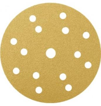 GOLD diskas P1500 150mm RADEX (50 vnt.)