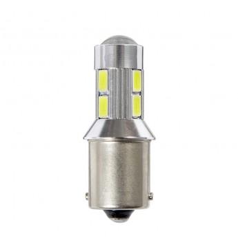 LED lemputė RING 24V 2W BA15s R5W 6000K 400 liumenų RING