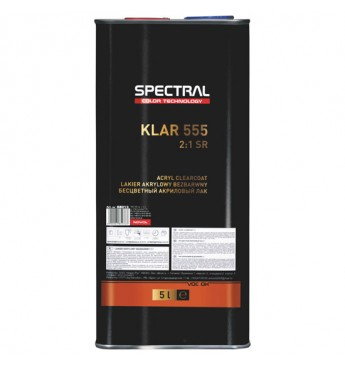 Akrilinis lakas KLAR 555 HS SR 2:1 5 l