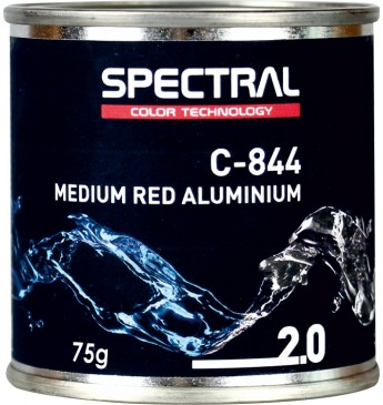 C-844 MEDIUM RED ALUMINIUM 75g