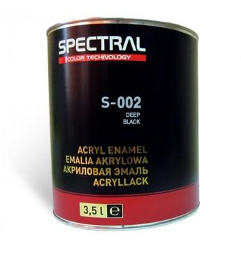Dažai S-002 Deep Black  3.5 l RAL9005