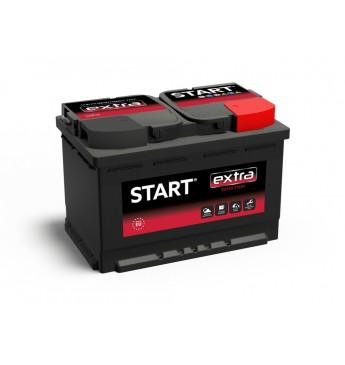 START 75Ah 12V 680A akumuliatorius 278x175x175